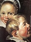 Frans Hals The Rommel Pot Player [detail] painting